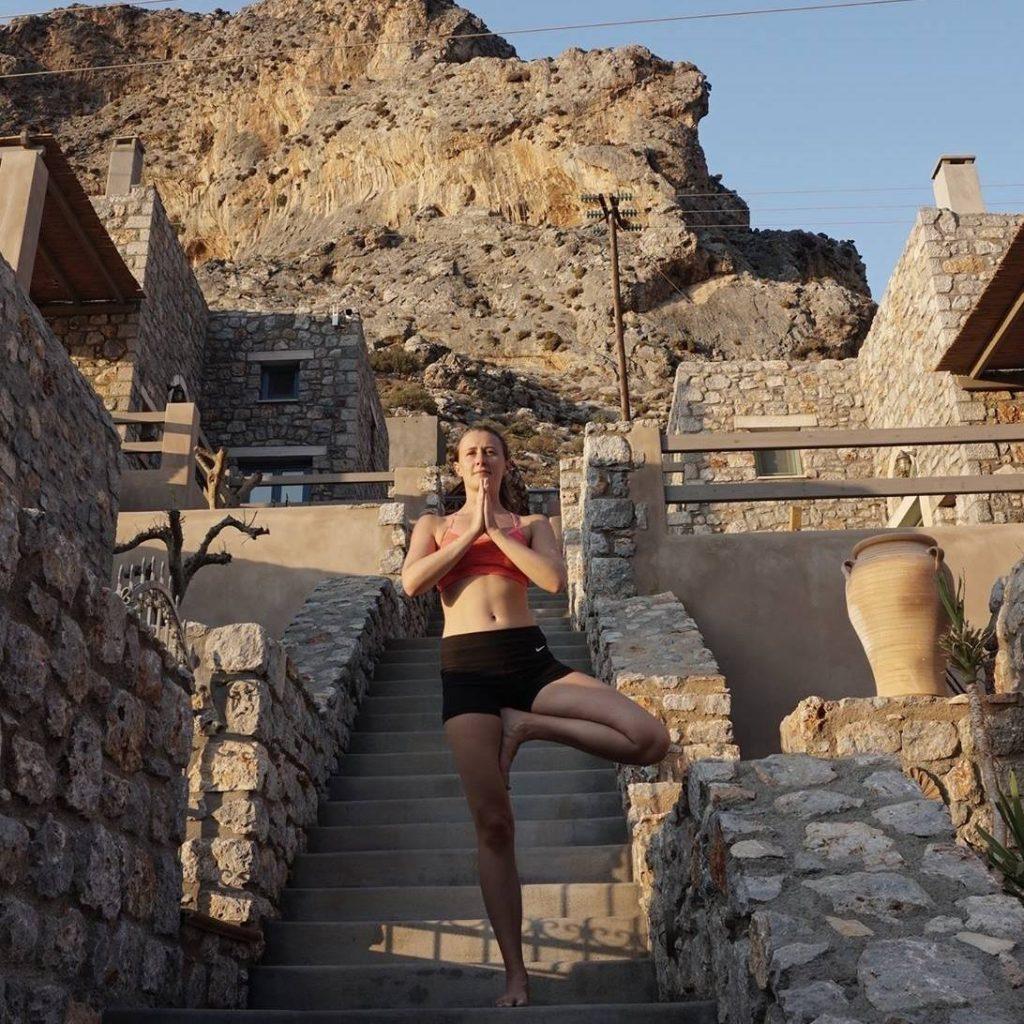 瑞典瑜伽老師安娜