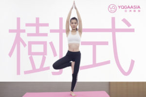 樹式 (Vrikshasana;Tree Pose)