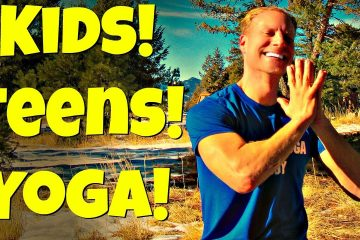 給兒童和青少年的30分鐘初學者瑜珈課程